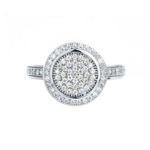 טבעת כסף עדינה